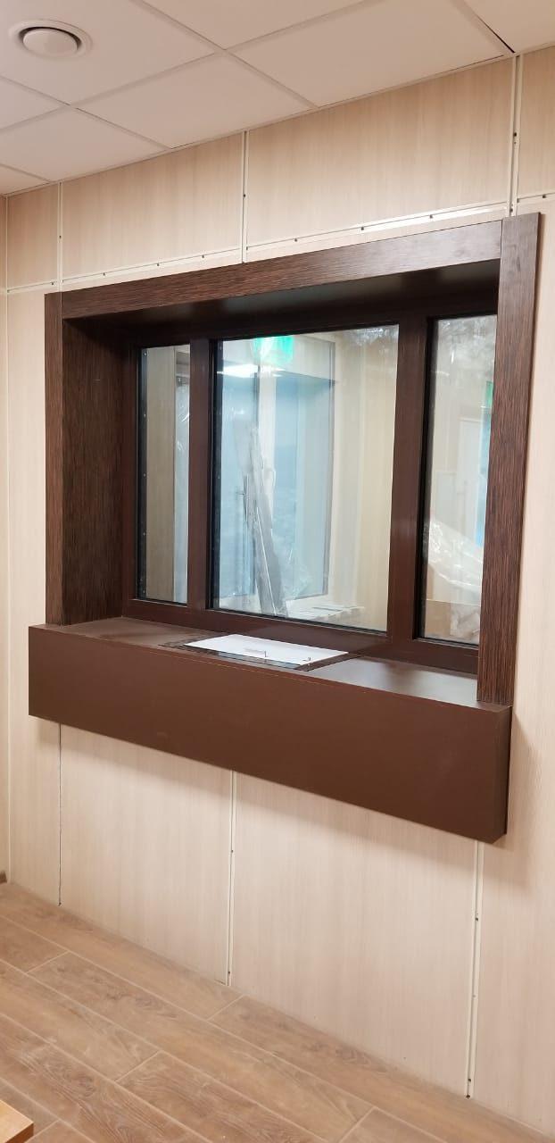 Бронированные окна МТМ-ПРО