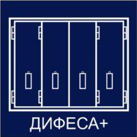 """Ставни стальные раскладные серии """"ДИФЕСА+"""""""