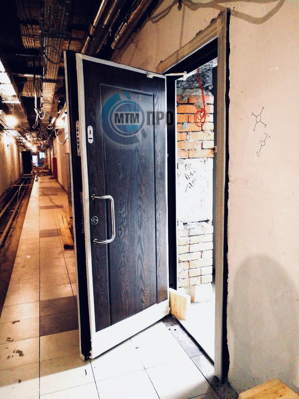 дверь бронированная с МДФ
