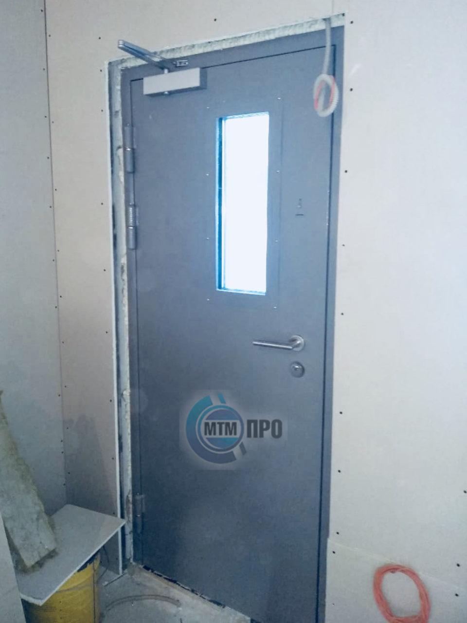 Пулестойкая дверь