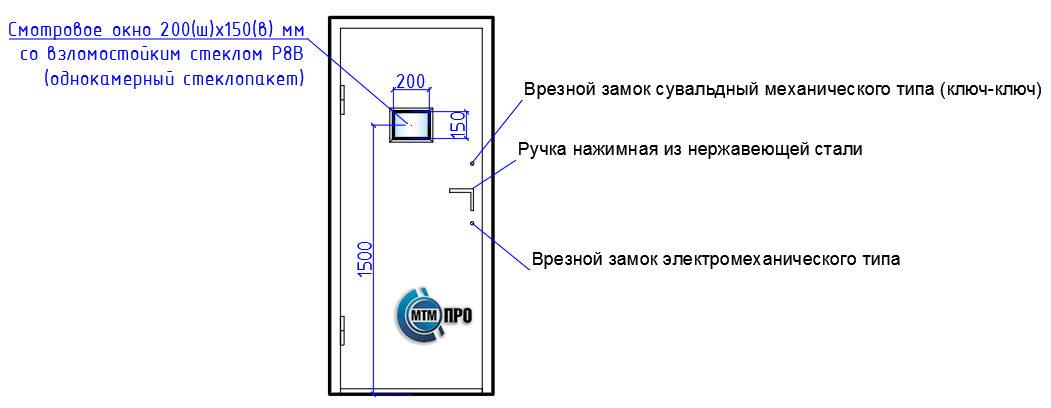 """Дверной блок серии """"БЛАНШ-ФМС"""""""