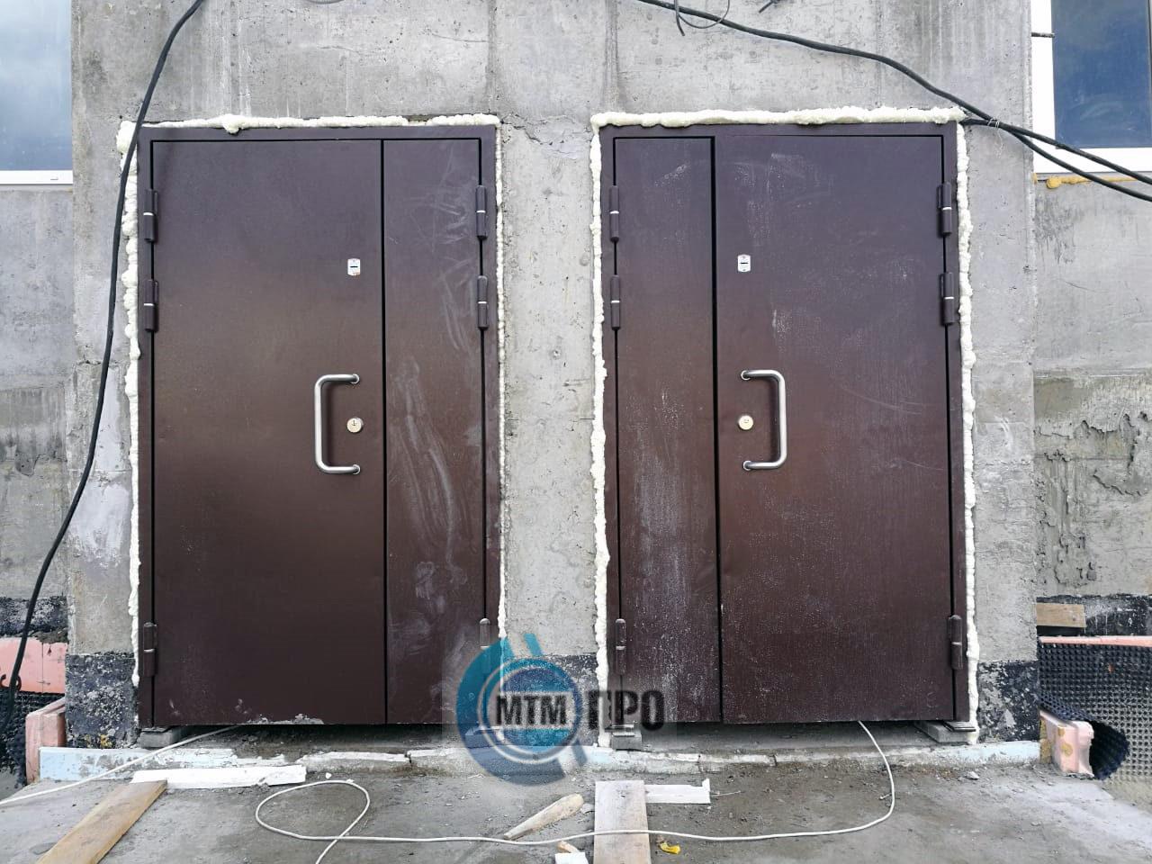 Дверные блоки пулевзломостойкие взрывостойкие серии «Пантеон Бр4-I-взрыв»