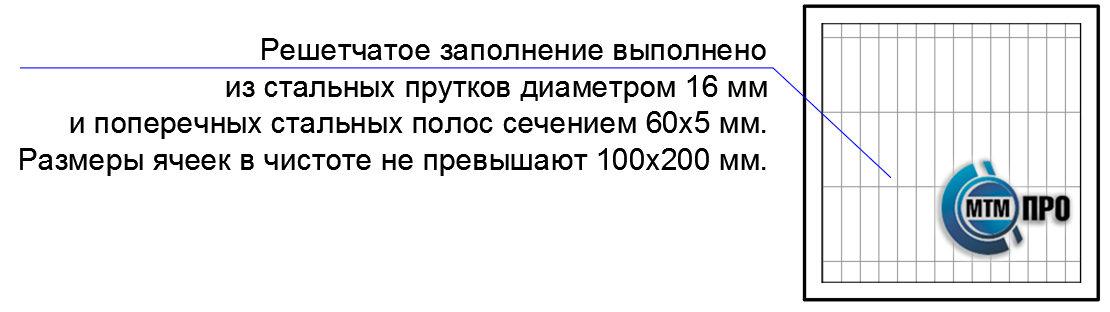 Решетки оконные стационарные серии «КВАДРО-ФМС»
