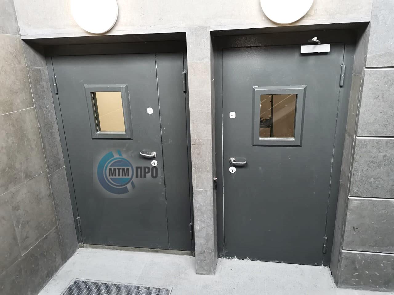 Двери стальные усиленные серии Бланш МТМ-ПРО