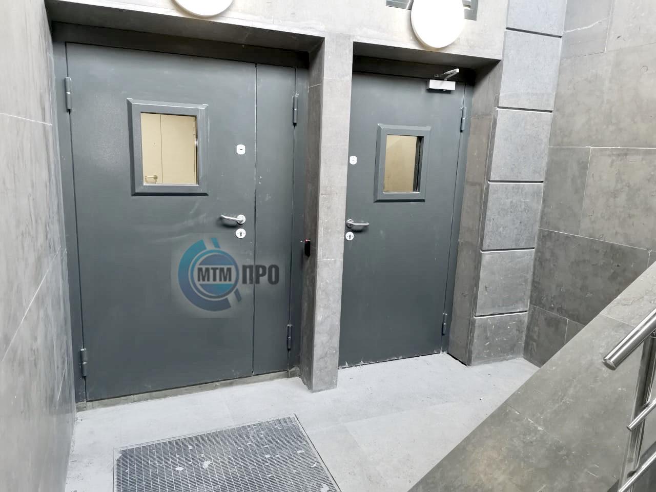 Стальные усиленные двери серии «БЛАНШ»